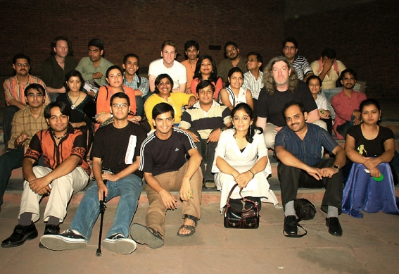 Delhi Bloggers Meet with BBC World Radio's Digital Planet team
