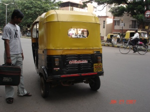 An auto in Bangalore
