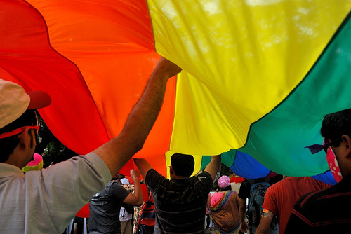 Bangalore Queer Pride Parade 09. Photo Vinayak Das