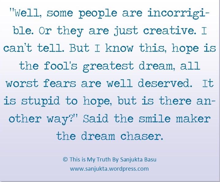 This is my truth my sanjukta Basu