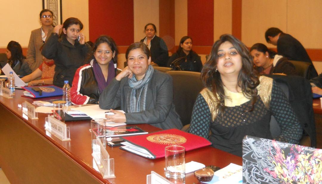 Goldman Sachs 10000 women certificate program BIMTECH Greater Noida batch Samyukta Media founder Sanjukta Basu