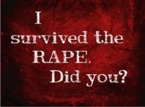 I survived rape