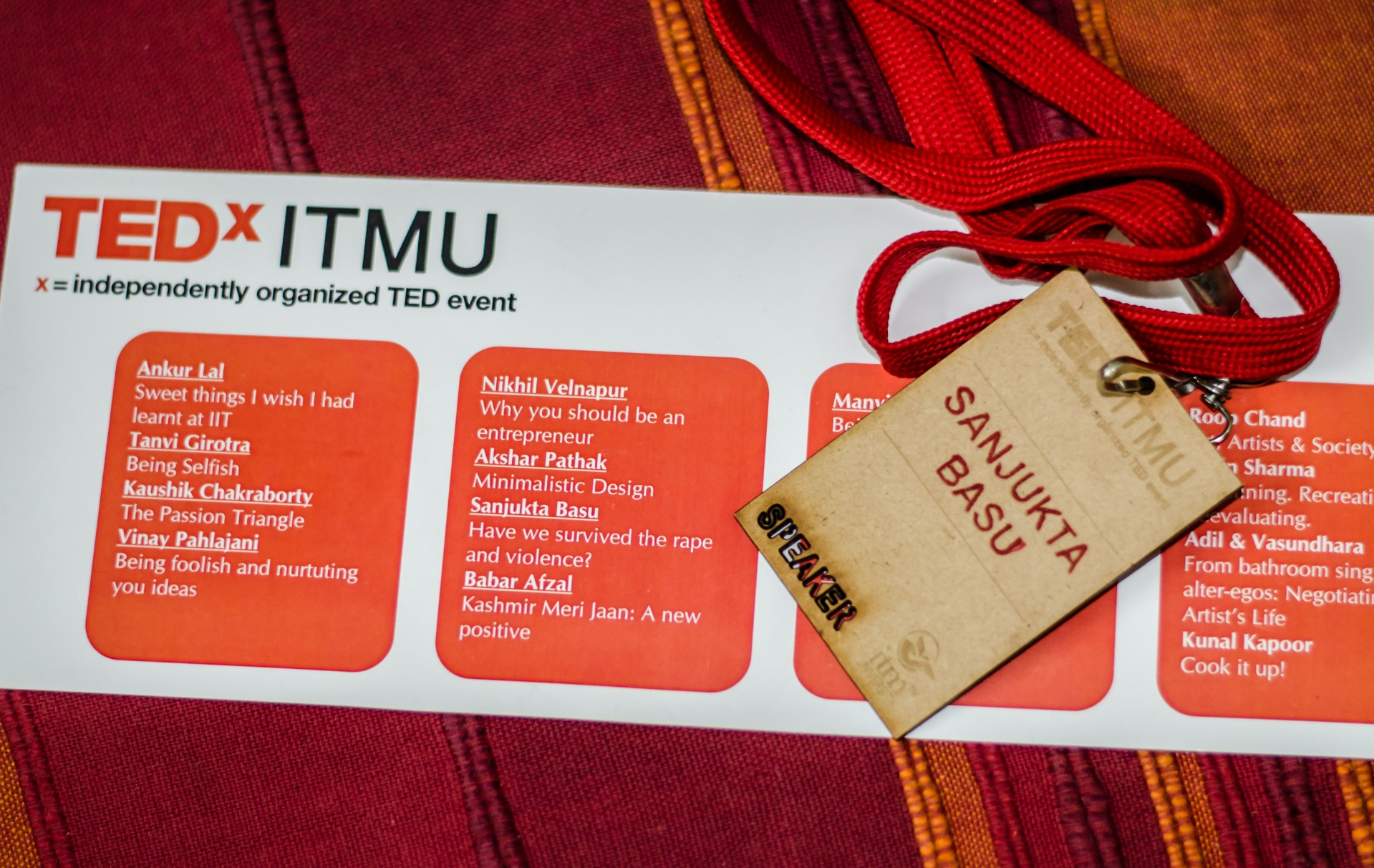 TEDxITMU talk by Sanjukta Basu