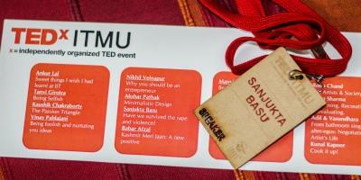 TEDxITMU talk by Sanjukta Basu