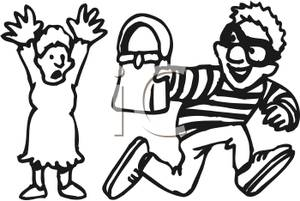 A_Thief_Snatching_a_Womans_Purse_Royalty_Free_Clipart_Picture_100221-120790-151053