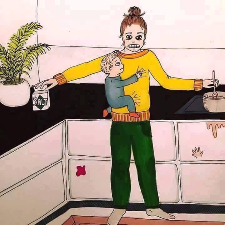 motherhood sketch logical indian