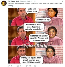 FIR to file against Cyber bully pic 1