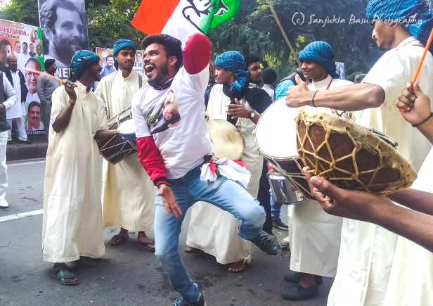 celebrations at congress office for rahul gandhi-1-2