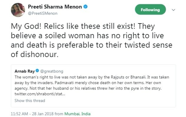 arnab ray tweet about swara bhaskar 4