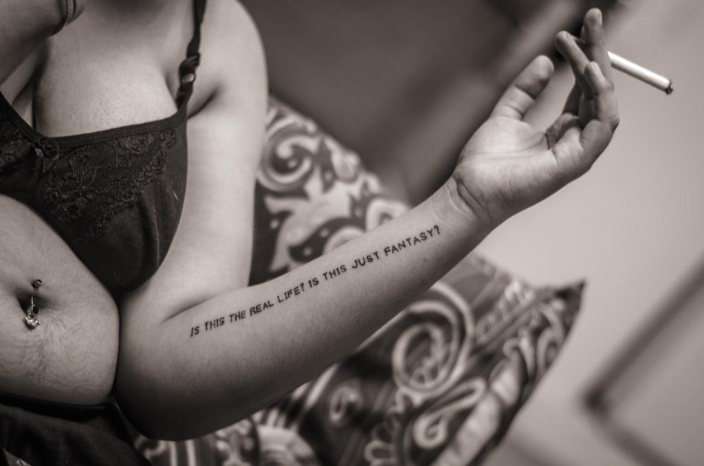 women with tattoos Bangalore-91